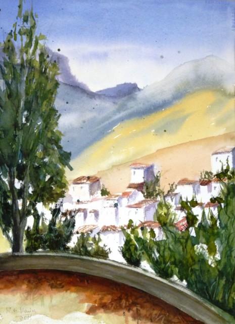 Exposición de Acuarelas Fernando Llanes 1