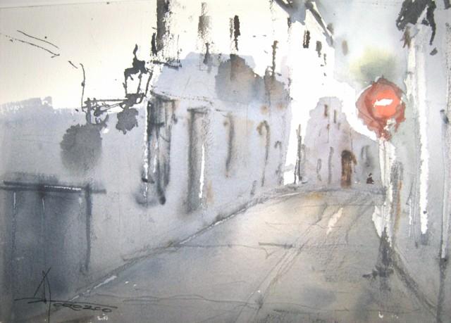 Exposición de Acuarelas Pedro Orozco Tristán 1