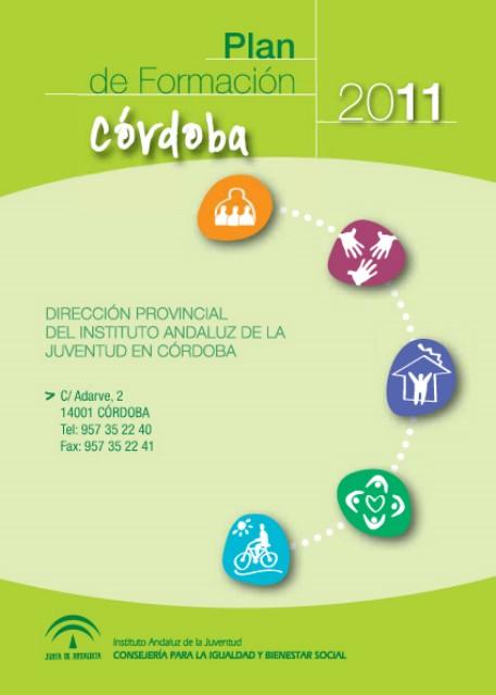 Plan Formacion 2011. Instituto Andaluz de la Juventud 1