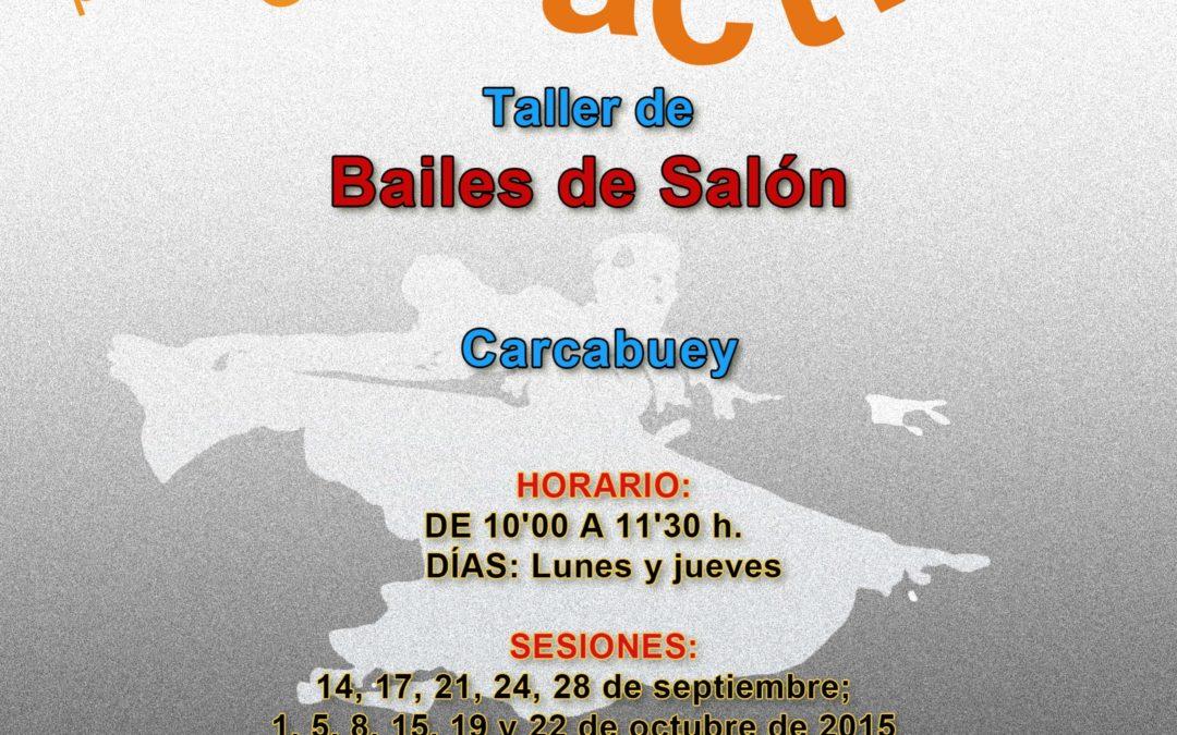 TALLER DE BAILES DE SALÓN 1