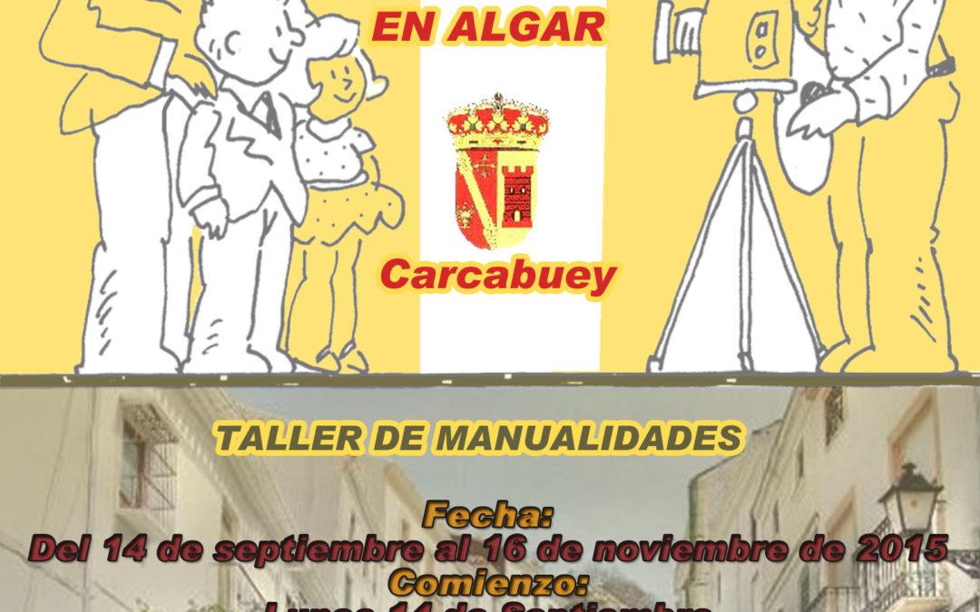 TALLER DE MANUALIDADES ALGAR 2015 1