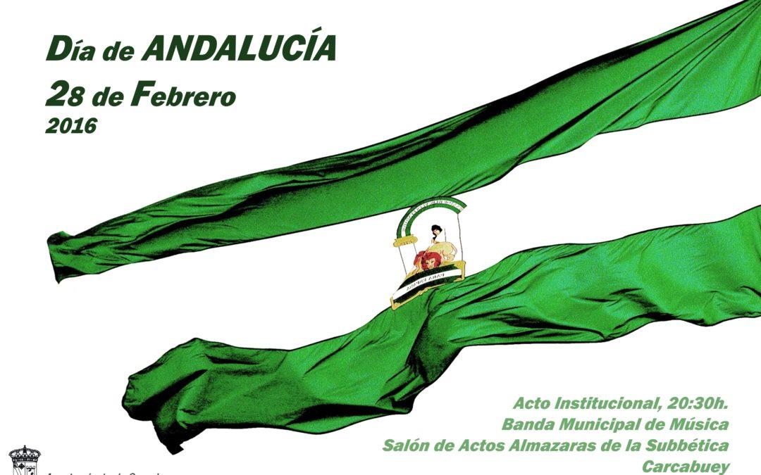 Acto institucional Día de Andalucía 1