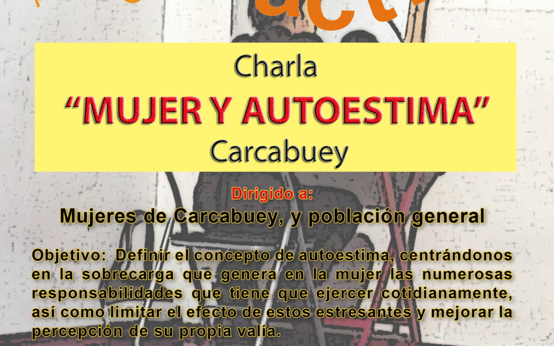 CHARLA MUJER Y AUTOESTIMA 1
