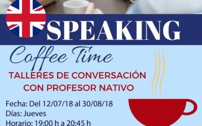 TALLER DE CONVESACIÓN EN INGLÉS CON PROFESOR NATIVO