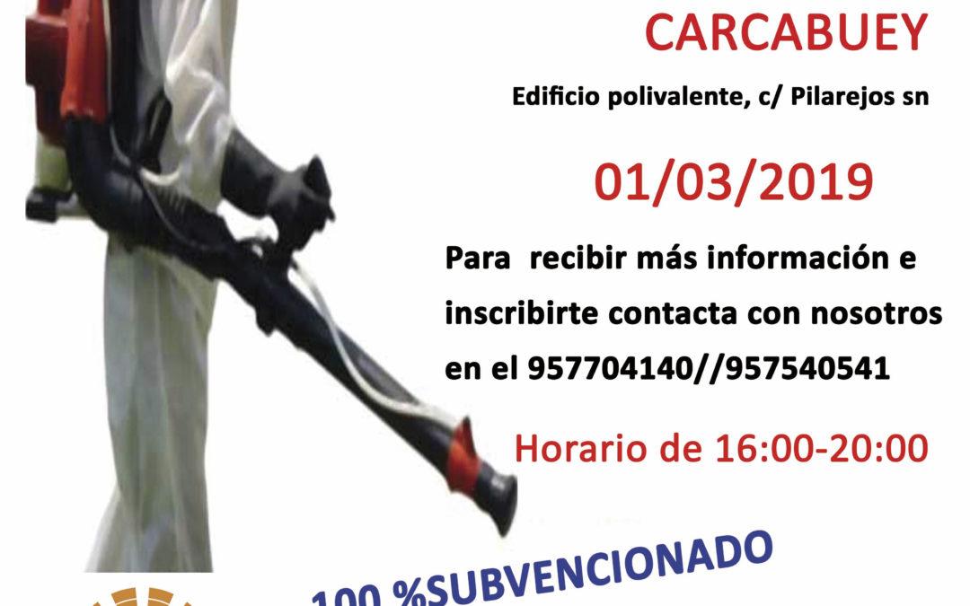 CURSO DE APLICADOR DE PRODUCTOS FITOSANITARIOS 1