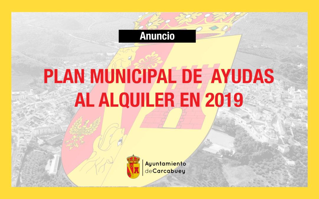 PLAN MUNICIPAL DE AYUDAS AL ALQUILER 2019 1