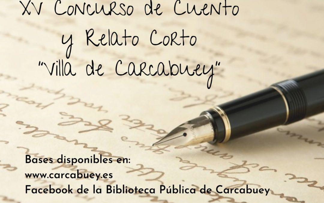 """XV CONCURSO DE CUENTO Y RELATO CORTO """"VILLA DE CARCABUEY"""" 1"""