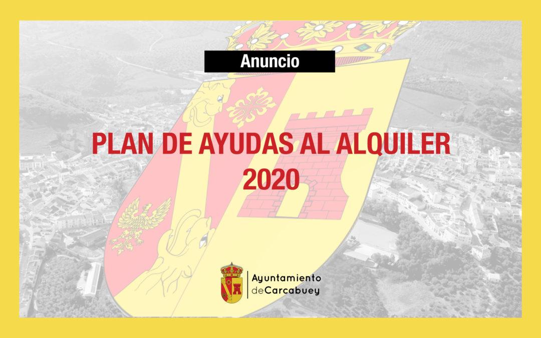 PLAN DE AYUDAS AL ALQUILER 2020