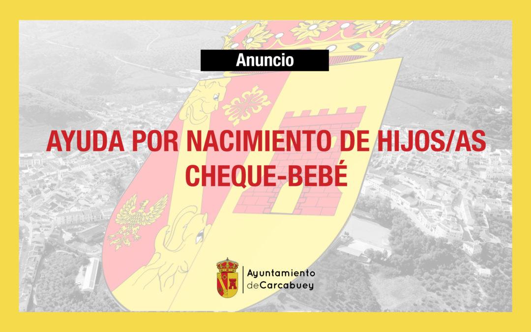 AYUDA POR NACIMIENTO DE HIJOS/AS | CHEQUE-BEBÉ