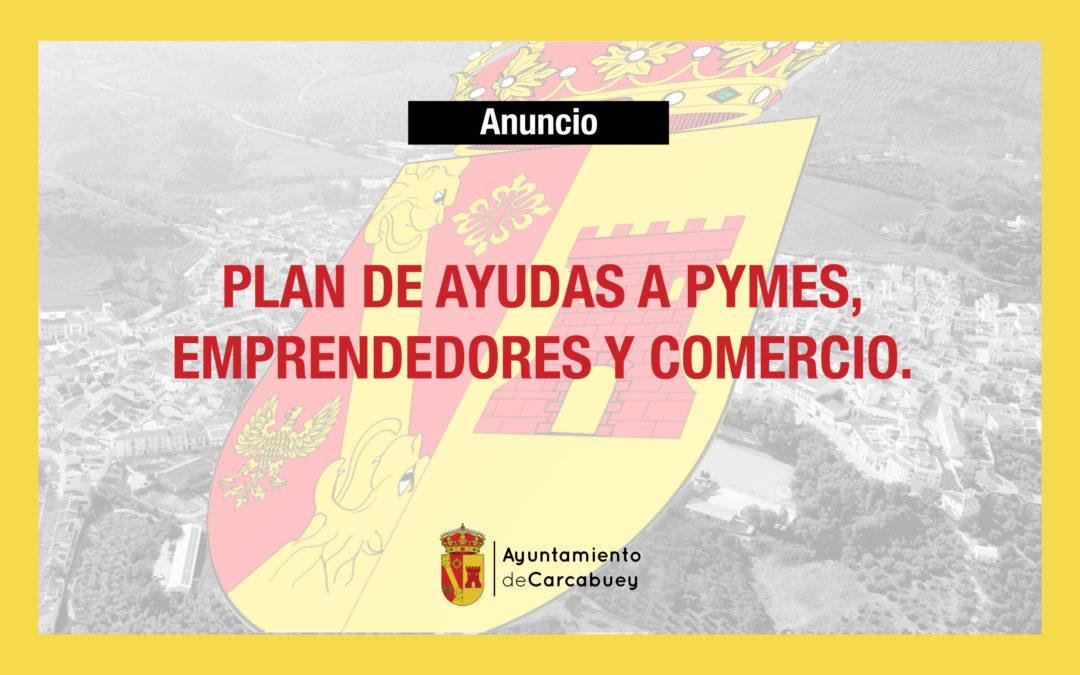 PLAN DE AYUDAS A PYMES, EMPRENDEDORES Y COMERCIO