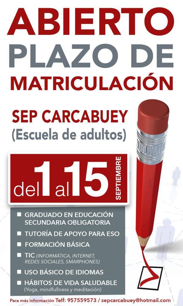 Escuela de adultos Carcabuey