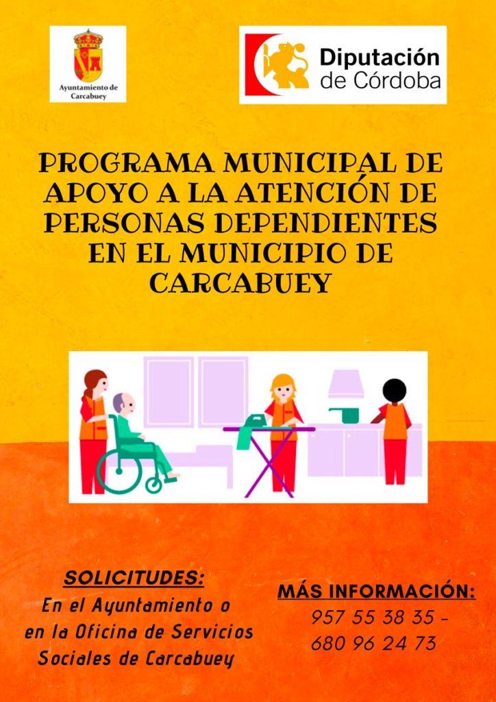 Programa Municipal de apoyo a la atención de personas dependientes en el municipio de Carcabuey