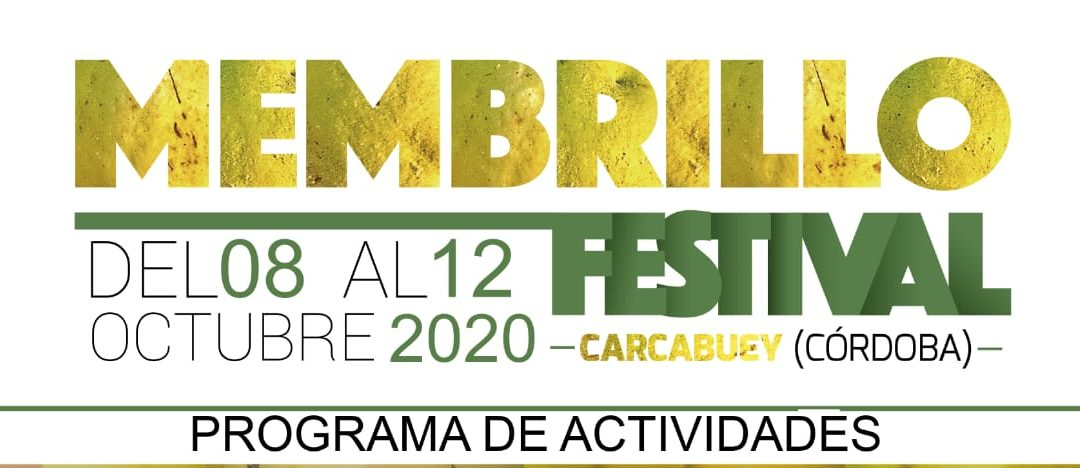 Cartel Membrillo Festival 2020