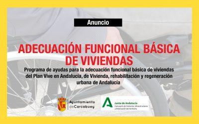 ADECUACIÓN FUNCIONAL BÁSICA DE VIVIENDAS – JUNTA DE ANDALUCÍA
