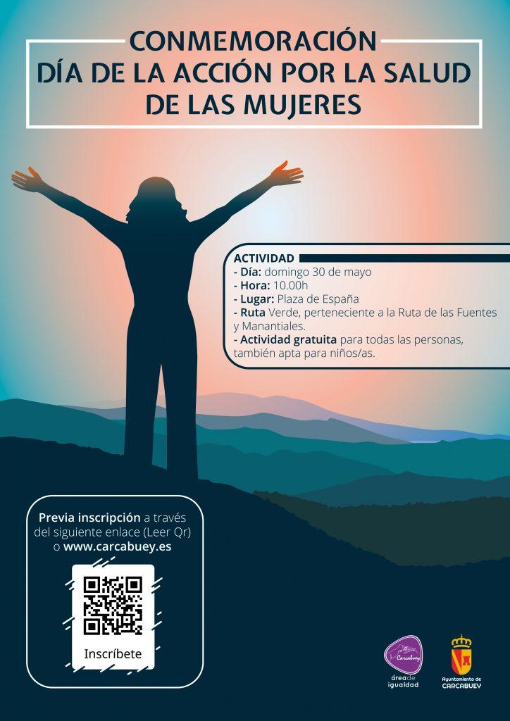 Cartel conmemoración día de la acción por la salud de las mujeres